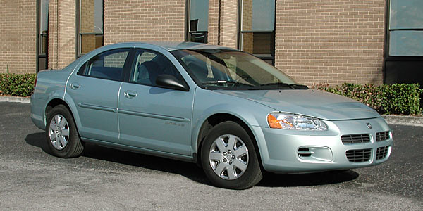 2001 car automobile vehicle dodge stratus