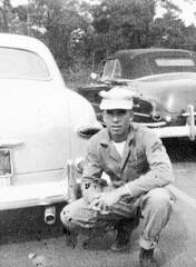 """Camp Lejeune"" (rjl6955) Tags: ford usmc sedan northcarolina custom 1949 1952 camplejeune unitedstatesmarinecorps fordor bcompany tractorbattalion 1stamphibian"