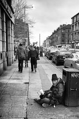 Byres Road Beggar 2 (Explore) (Nick Lambert!) Tags: street scotland fuji glasgow beggar streetscape begging byresroad nicklambert fujix100 fujinonasphericallens byresroadbeggar