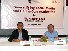 Green Smyles Demsytifying Social Media and Online Communication Ahmedabad Seminar Workshop Prateek Shah 5