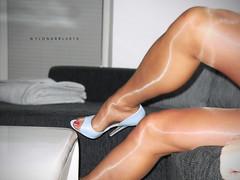 R0013147 (nylongrrl) Tags: blue 6 feet stockings shiny toes highheels arch shine legs style tights skirt glossy upskirt heels gloss heel satin stiletto cleancut ph pantyhose nylon toenails p2 nylons perlon garment collant 6inch platino eliteheels archsatin