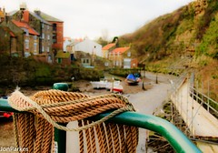 Tide Tied (Jon Parkes Photography) Tags: water nikon rope northyorkshire staithes myfuji jonparkes d7000 anythingnikonexceptpeople
