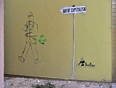 HH-Stencil 494 (cmdpirx) Tags: urban streetart color colour art cutout painting fun one graffiti stencil paint panda hamburg humor can spray drug layer multiple hh aerosol farbe altona schablone strassenkunst