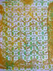 DSCF3901 (Chantal 61) Tags: acrylique chevrons glatine ghostprint