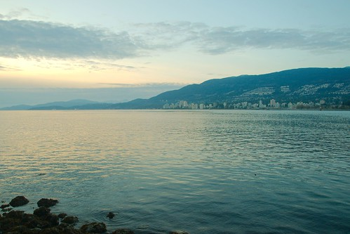 West Vancouver at twilight