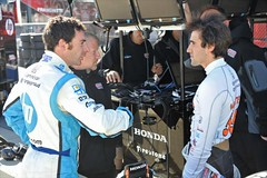 Simon Pagenaud talks with Tristan Vautier (IndyCar Series) Tags: camera speed nikon length mode rating 52010 2focal 101250fnumber 5610iso 200metering d3exposure