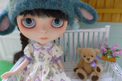 Tia's New Dress & Hat
