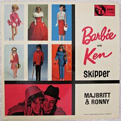 Barbie och Ken Skipper - a vinyl single from the 60's (Inger K) Tags: 60s sweden vinyl ken barbie skipper 7 single record sverige singel ronny majbritt 7inch
