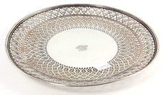 S5. Tiffany & Co. Sterling Silver Reticulated Cake Plate
