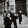 The talker (c e d e r) Tags: street bw italy milan gesture