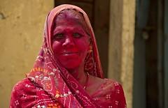 Colours of Holi 3 (bag_lady) Tags: portrait woman india festival indian celebration hinduism holi rajasthan bundi festivalofcolour earthasia