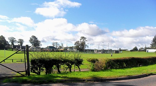 Football pitch at Methven