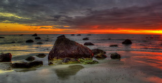 White Horse Beach Sunrise