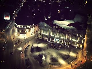 Hotel view in Leeds
