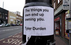 the things you own end up owning you (big bozo) Tags: bristol tylerdurden stokescroft