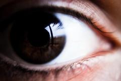 Eyes wide open - Outside |087/365| {Explore!} (Scarlet.Mind) Tags: detail macro eye closeup project outside reflex 365 occhio eyeswideopen fuori riflesso dettaglio progetto pupilla ciglia