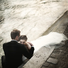 But if you close your eyes, does it almost feel like nothing changed at all? (Serena Cevenini) Tags: wedding paris love nikon couple workshop conceptual rosiehardy