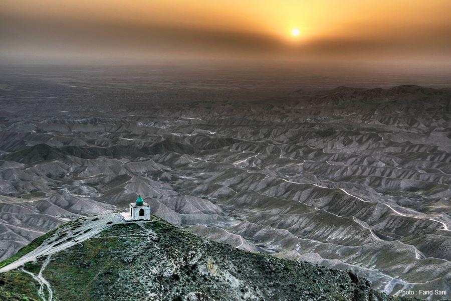 Иран, Кладбище Халед-Наби