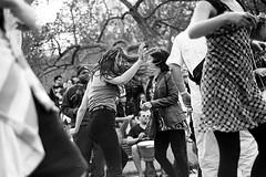 Tam Tams 1, May 2011 (ya.zan) Tags: wild blackandwhite bw white black film analog 35mm dance dancing kodak montreal trix 400tx d76 400 tamtams nikonfm10 epson v600 grayscale fm10 classicblackwhite epsonperfectionv600 bwfp