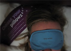 Forty Winks ( EkkyP ) Tags: travel self hotel mask sleep pillows 365 longarm project365 365days uploaded:by=flickrmobile flickriosapp:filter=nofilter