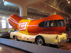 "Can you sing along...""Oh I wish I were an Oscar Mayer Wiener, then everyone would be in love with me!"" (cheroberta123) Tags: mobile michigan wiener dearborn henryfordmuseum"