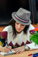 Alizée at autograph session in Poitiers 2