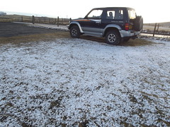 It snowed today!! (Owen H R) Tags: snow orkney april owenhr