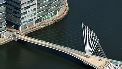 lowry_bridge (Airviewsphotos) Tags: bridges barton lowry swingbridge mediacity thelwall