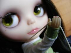 Blythe A Day April 13th:  Nail polish