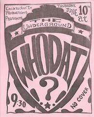 Whodat the underground