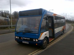 47117 on short E - Line (the insider2013) Tags: kent east solo stagecoach optare 47117