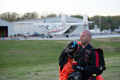 """Boogie Bonanza 2013, Jake in the landing area (divemasterking2000) Tags: party sky skydiving flying spring al jump jumping alabama dive diving celebration gathering western april boogie theme skydive canopy themed dropzone parachuting apr sda parachute dz bonanza canopies skyjump gather parachutes skyflying """"western skyfly 2013 skyjumping theme"""" """"boogie alabama"""" """"skydive bonanza"""" themed"""""""