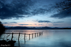 Loch Lomond Sunset (Tracy_Green) Tags: sunset sky cloud lochlomond gloaming nnr gartocharn