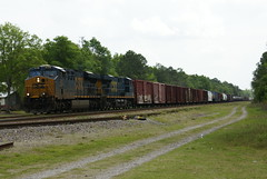 RAILWATCH 2013 CSX Q602 AT FOLKSTON, GA (railfan1967) Tags: train georgia ge freight csx manifest folkston 897 es44ah q602
