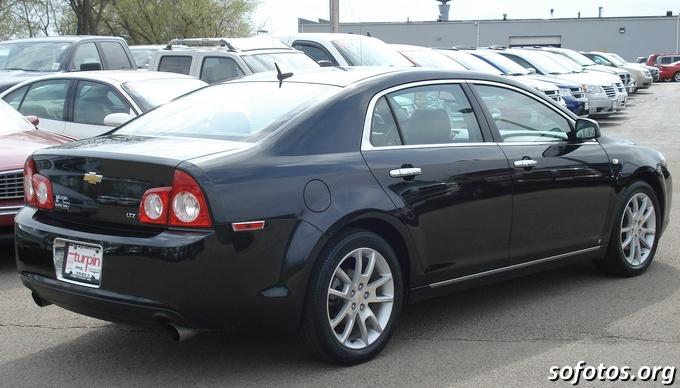 Chevrolet Malibu 2011 preto