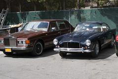 house cars am carriage greenwich ct rr rollsroyce motor db4 astonmartin silverspirit steelwheels steelies