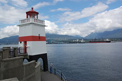 Brockton Point Lighthouse, Vancouver (Steve W Lee) Tags: lighthouse stanleypark vancouver coalharbour coalharbor britishcolumbia brocktonpoint brocktonpointlighthouse
