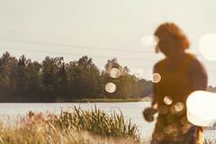 On An Island (pni) Tags: water tree sky blur focus bokeh light bubble person human being people man youth boy multiexposure multipleexposure tripleexposure j16 jakobstad pietarsaari finland suomi pekkanikrus skrubu pni