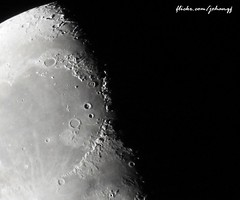 Moon detail (johanqf) Tags: moon supermoon astronomy astro satellite satelite white dark black space universe stars craters mond crater lune lua luna solar system kuu maan gealach up mare light relief astronomia  tungli  mne  mnen sky lunar