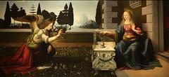 Leonardo da Vinci (1452-1519) Annunciazione (1472-1475 circa) olio e tempera su tavola - dimensioni 98217 cm - Galleria degli Uffizi, Firenze (raffaele pagani) Tags: galleriadegliuffizi uffizigallery uffizi firenze florence museo museum medicifamily famigliadeimedici cimabue caravaggio giotto michelangelo raffaello mantegna tiziano parmigianino drer rubens rembrandt canaletto botticelli leonardodavinci quadri dipinti paintings toscana tuscany italiacentrale centeritaly italia italy canon