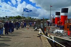 (Zak355) Tags: rothesay isleofbute bute scotland scottish riverclyde pswaverley paddlesteamer ship boat vessel cruise tour