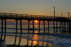 Beach Sunrise (PMillera4) Tags: beachsunrise jerseyshore newjersey beach sunrise dawn fishingpier