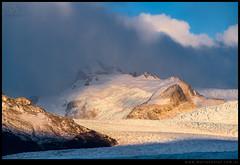 Amanece sobre Glaciar Perito Moreno