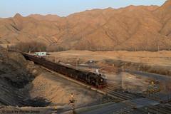 I_B_IMG_8122 (florian_grupp) Tags: asia china steam train railway railroad bayin lanzhou gansu desert landscape loess mountains sy ore mine 282 mikado steamlocomotive locomotive