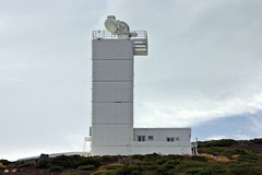 Swedish Solar Telescope (herbraab) Tags: observatory roquedelosmuchachos telescope europeannorthernobservatory lapalma astronomy canoneos300d sst swedishsolartelescope refractor orm