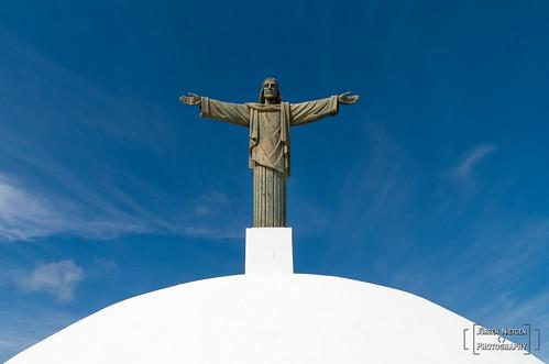 Christus Statue auf dem Pico Isabel de Torres (2)