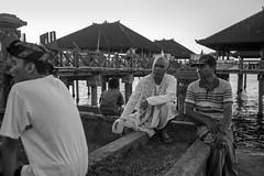 Singaraja Harbour Talk - Bali (Dickie.T) Tags: bali singaraja street bw