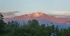 P1000811 (therovingeye) Tags: pikespeak snow snowcapped snowfall mountain rockymountains rockies sunrise dawn morning