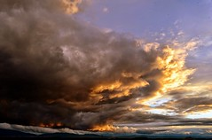 Sunset storm (stranger_bg) Tags: blue bulgaria cielo clouds landscape light magic nature new photos pictures sky sofia stranger sun sunset   paysage red yellow white mordor wildly colors heavens hell dramatic skies theme          great ufoclouds wings space blanche storm