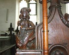 seven deadly sins: Pride (15th Century) (Simon_K) Tags: wiggenhall st germain germans norfolk eastanglia church churches